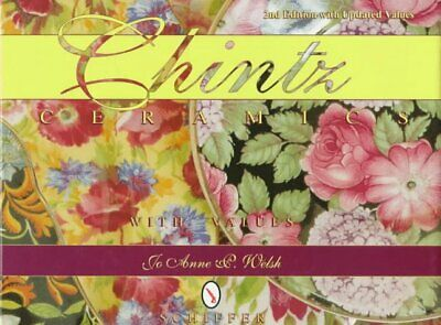 CHINTZ CERAMICS By Jo Anne P. Welsh - Hardcover *Excellent Condition*