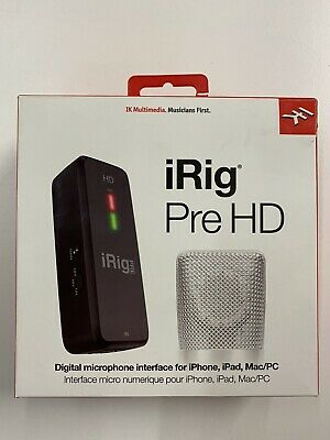 iRig Pre HD Mic Preamp and Interface