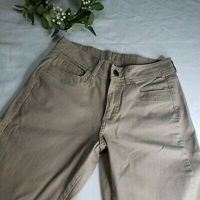 Riders By Lee Women's Tan Brown Bootcut Jeans Pants Size 10M