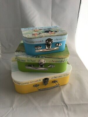 We're Going On A Bear Hunt Storage Suitcases, Boxes Story set of 3