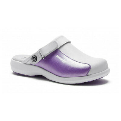 Toffeln Ultra Lite Clogs Comfort Dog Grooming Shoes, Shiny Purple