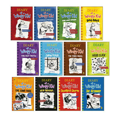 Diary of a Wimpy Kid Collection Book Pack (12 books) RRP £83.88