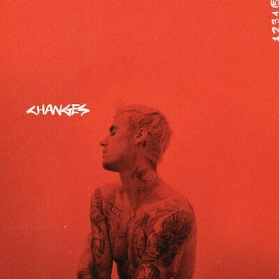JUSTIN BIEBER CHANGES CD (New Release February 14th 2020) IN STOCK