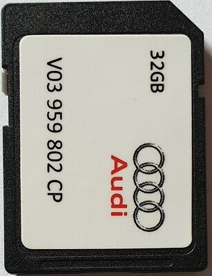 Carte SD GPS AUDI - MHIG MHI2 - Europe 2018-2019