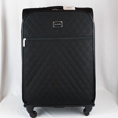 """Vera Bradley 27"""" Spinner Rolling Luggage Classic Black New NWT MSRP $378"""