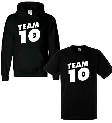 Kids TEAM 10 Inspired Logan Jake Paul Logang Youtuber Merch Hoodie Hoody Gift