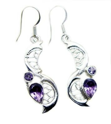 bewitching Amethyst 925 Sterling Silver Purple genuine jewellery CA gift