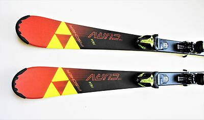 Fischer Alpin Skiset Kinder Carvingski RC4 The Curv Junior  mit Bindung
