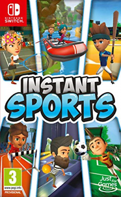 SWTICH-Instant Sports GAME NEUF