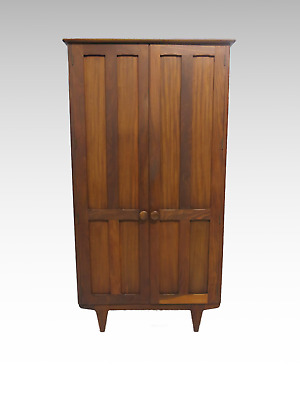 Vintage double 2 door fitted wardrobe #2538L