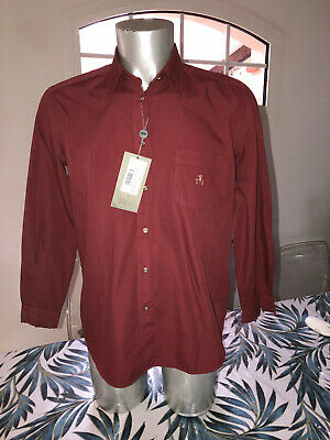 Pretty Shirt Red Trussardi Jeans S NEW SIZE Label Value