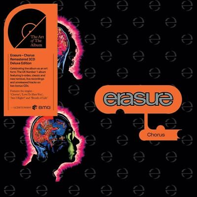 ERASURE CHORUS 3 CD DELUXE EDITION (Released February 14th 2020)