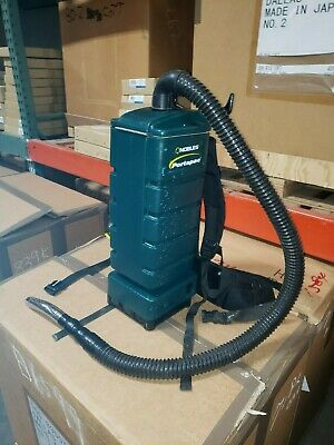 Nobles Portapac Commercial Backpack Vacuum Cleaner  HEPA Filtration, Hose & Wand