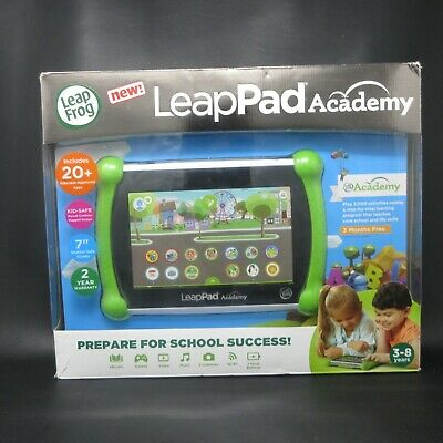 "LeapPad Academy - 7"" (16GB) Kids Learning Tablet (Green)....NEW open box"