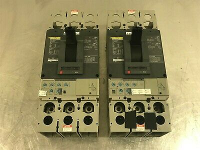 Mint Condition SQUARE D #DJL36400E53 CIRCUIT BREAKER **CLEANED + TESTED**