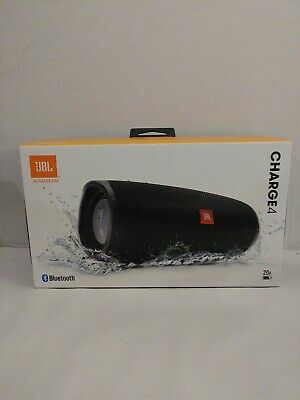 New JBL Charge 4 Portable  Wireless Bluetooth Speaker Black (JBLCHARGE4BLKAM)