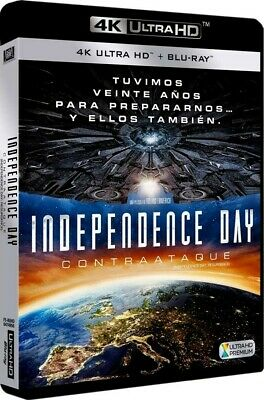Independence Day: Contraataque (Blu-Ray 4k Ultra Hd + Blu-Ray) (Independence Day