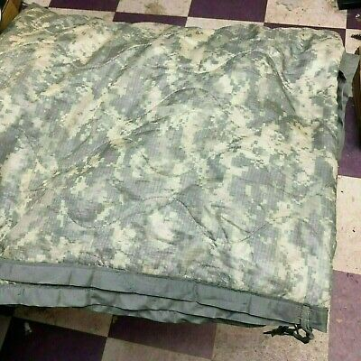 LINER, WET WEATHER PONCHO, (genuine USMI) (ACU CAMOUFLAGE) pre-issued
