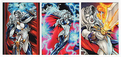 2012 5finity LADY DEATH Series 2 base trading card 2LD2 //200