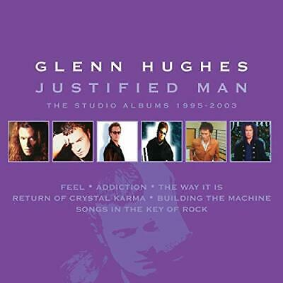 Glenn Hughes-Justified Man ~ The Studio Alb CD NUEVO