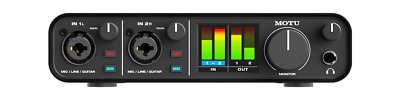 MOTU M2  USB-C 2-in/2-out audio interface UPC 839128006119