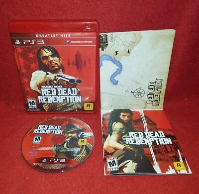 Red Dead Redemption -- Greatest Hits Edition (Sony PlayStation 3 PS3, 2010)