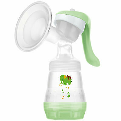 MAM Manual Breast Pump with 160ml Bottle