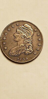 1835 Capped Bust Half Dollar 90% Silver U.s. Coin