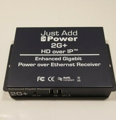 Just Add Power 2G+ POE Receiver VBS-HDIP-218POE