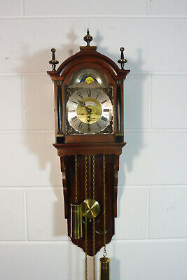 Dutch Wall Clock Warmink Wuba Old Clock