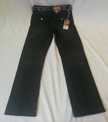 LEE Cooper Kids Teen Boys Denim Dark Blue Jeans Trousers Size 11-12 Yrs Clothes