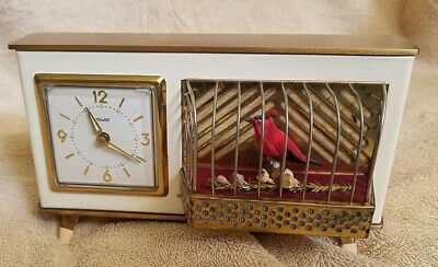 Antique Clock / Bird Cage Alarm Clock