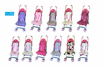 Stay Put Baby Universal Buggy Pushchair Pram Reversible Fleece Liner Stroller