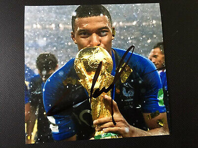 Kylian Mbappé Hand Signed Autograph Photo (OFFERS CONSIDERED)