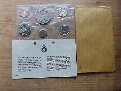 Canadian 1968 Uncirculated Proof Like  6 Coin Set