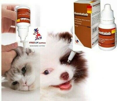 Red stains remover - eye/ear drops. Tear stains. Fights infection cats/dogs/pets
