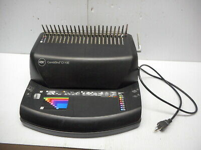 GBC CombBind Plastic Comb Binding Machine Model C110E