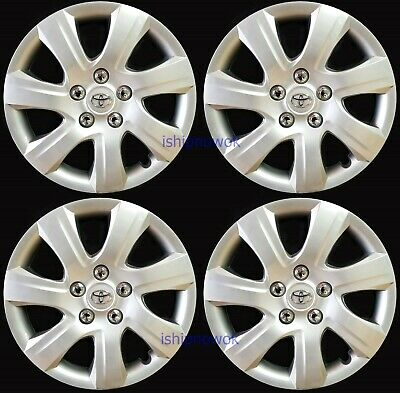 "Replacement 16"" Hubcap Rim Wheel Cover for 2002 - 2018 Camry Matrix Corolla Rav4"