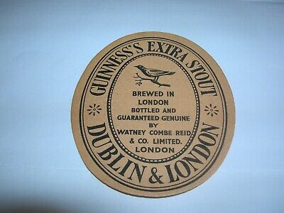 GUINNESS'S Extra Stout Brewed in London WATNEY COMBE REID Ltd ENGLAND