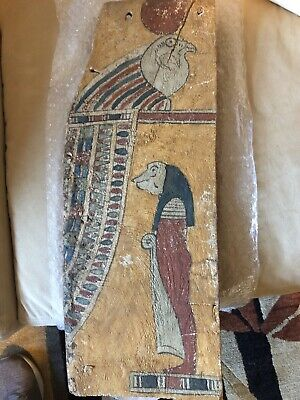 Ancient Egyptian Painting - 25th Dynasty - Bird & Reptilian —DARK FORCES