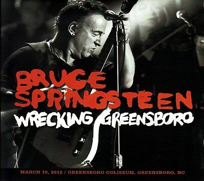 Bruce Springsteen. 2012. Wrecking Greenboro. Soundboard 3 Cd.