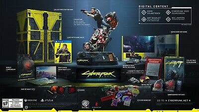 Cyberpunk 2077 Collector's Edition PS4 Preorder
