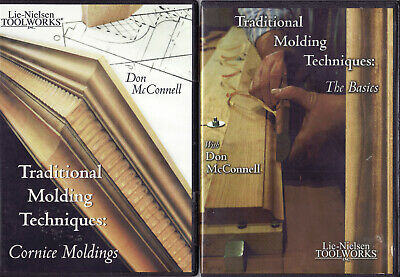 Traditional Molding Techniques: Basics & Cornice Moldings - Don McConnell 2 DVDs