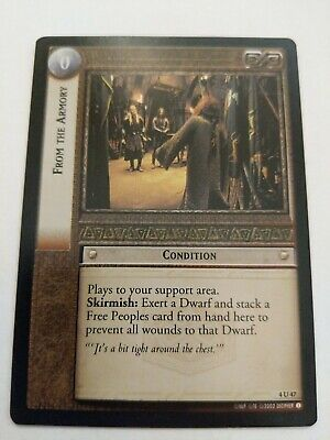Smith Of The Rittermark FOIL 4U295 LoTR TCG TTT The Two Towers Weland