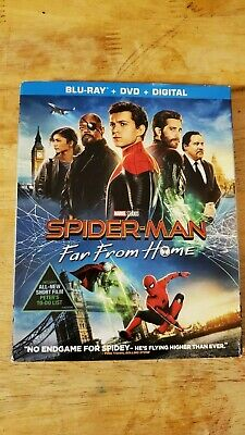 Spider-man: Far From Home (Blu-ray, 2019, 2 Discs)- BRAND NEW- GREAT PRICE!!