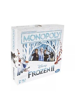 Monopoly Game: Disney Frozen 2 Edition Board Game for Ages 8 and Up