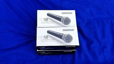Shure Sm58 Vocal Microphone, New In Box.  Sm58-Lc