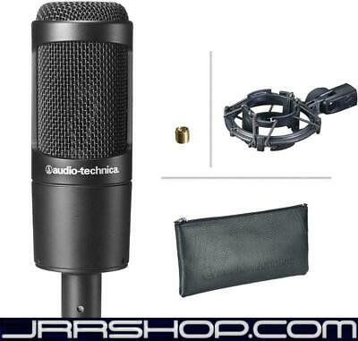 Audio Technica AT2035 Large Diaphragm Cardioid Condenser Mic New JRR Shop
