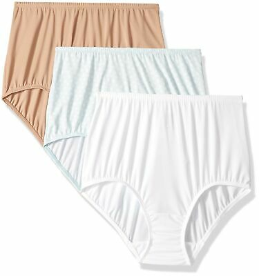 Olga Women's Without a Stitch 3 Pack Brief XX-Large