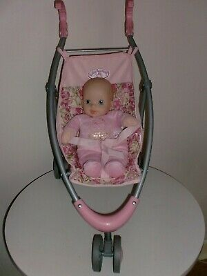 Zapf Creation Baby Annabell 3 Wheeled Buggy & My First Soft Annbell Doll
